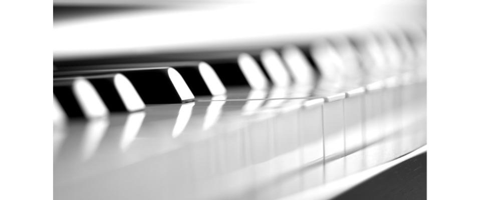 Keys on the piano.
